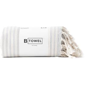 B Yoga B Towel Full Body, beige/gris